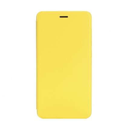 Xiaomi Redmi 2 / 2A Leather Flip Case Yellow