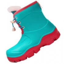 Honeywell Waterproof Non-slip Kids Boots Green/Red Size 33