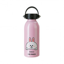 NONOO x LINE FRIENDS Thermos Pink