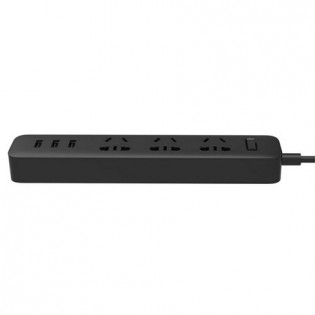 Xiaomi Mi Power Strip 3 Sockets / 3 USB Ports Black