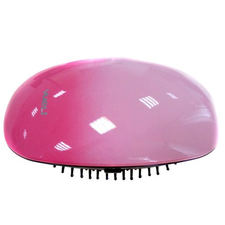 Yueli Portable Hair Massage Ionic Comb Pink