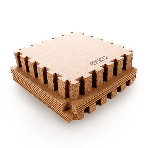 Xiaomi Natural Cork Mosaic Mats 175.8/62.2cm 12pcs